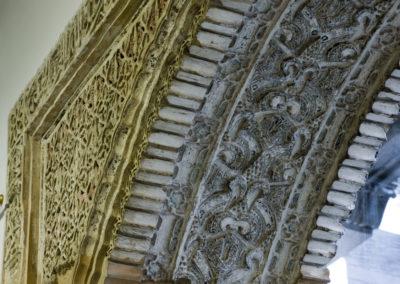 Detail of the interior of Casa de los Girones