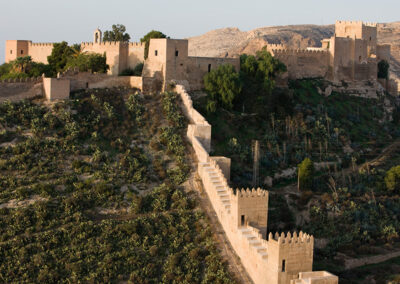 Khayran wall, 11th century. Almería.