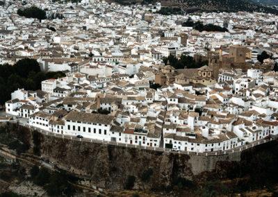 Vista aérea de Priego de Córdoba