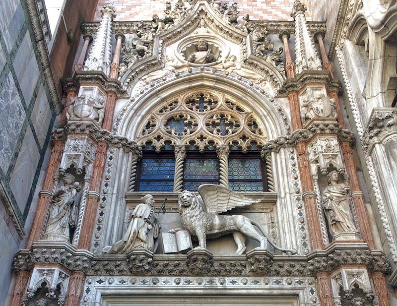 El león alado, símbolo de Venecia