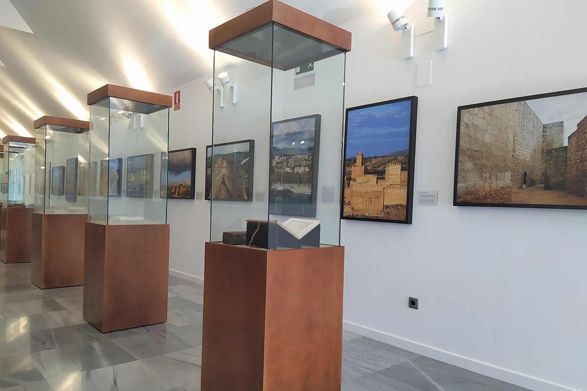 Partial view of the exhibition in the Cuarto Real de Santo Domingo.
