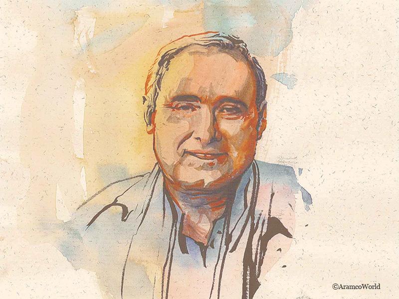 Retrato de Rafael Valencia Rodríguez pintado por Jesús Conde Ayala