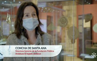 """""""Tesis"""" de Canal Sur dedica un reportaje a la exposición «E Terris ad Astra. Una herencia científica»"""