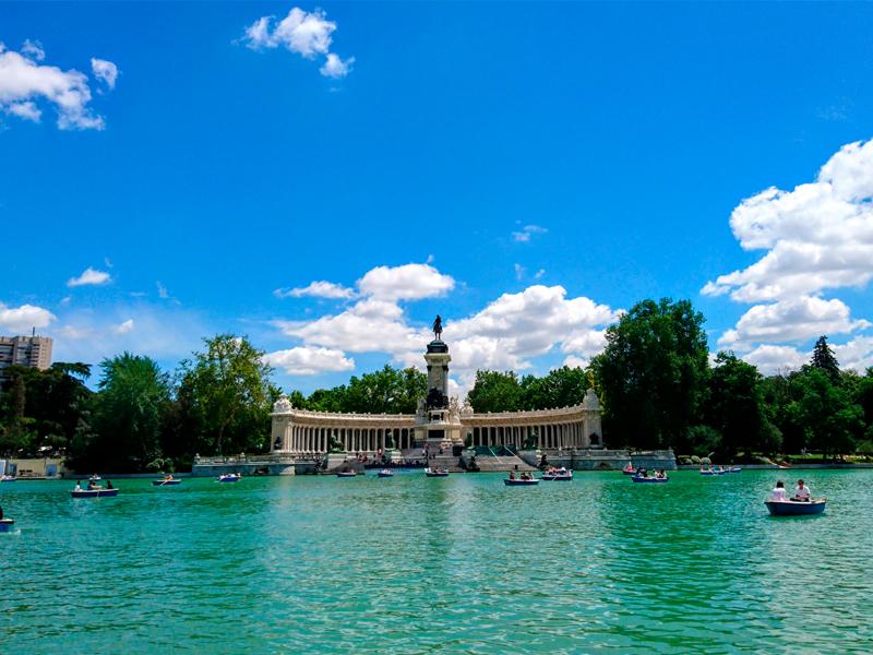 Retiro Park. Madrid.