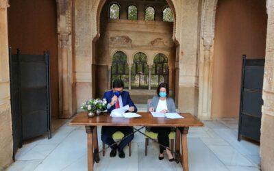 El legado andalusí y Paradores firman un acuerdo para promocionar el turismo y la cultura