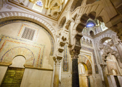 Maqsura de la Mezquita-Catedral de Córdoba. ©Plataforma de Material Audiovisual de Turismo y Deporte de Andalucía.