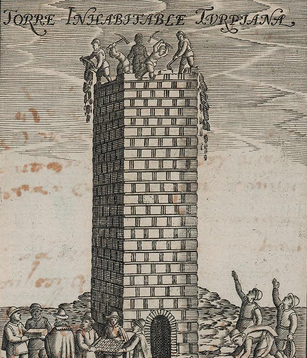 """Francisco Heylan, «Detalle de la Torre Inhabitable Turpiana"""""""