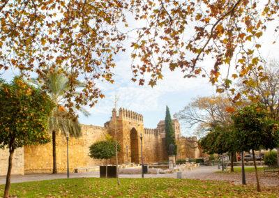 Muralla árabe. Córdoba. ©Plataforma de Material Audiovisual de Turismo y Deporte de Andalucía.