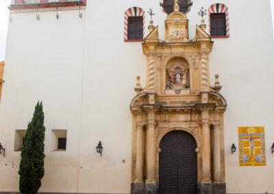 Iglesia de San Juan y todos los Santos, antiguo convento de la Trinidad. Córdoba. ©Plataforma de Material Audiovisual de Turismo y Deporte de Andalucía.