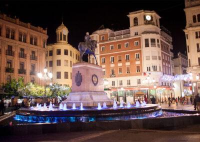 Plaza de las Tendillas. Córdoba. ©Plataforma de Material Audiovisual de Turismo y Deporte de Andalucía.