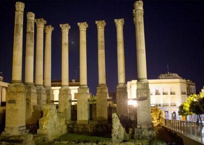 Templo romano. Córdoba. ©Plataforma de Material Audiovisual de Turismo y Deporte de Andalucía.