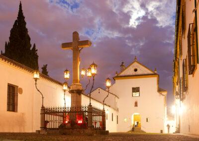 Plaza de Capuchinos. Córdoba. ©Plataforma de Material Audiovisual de Turismo y Deporte de Andalucía.